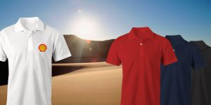 Custom 3M Scotchgard Dry-Fit Polos in Dubai, UAE