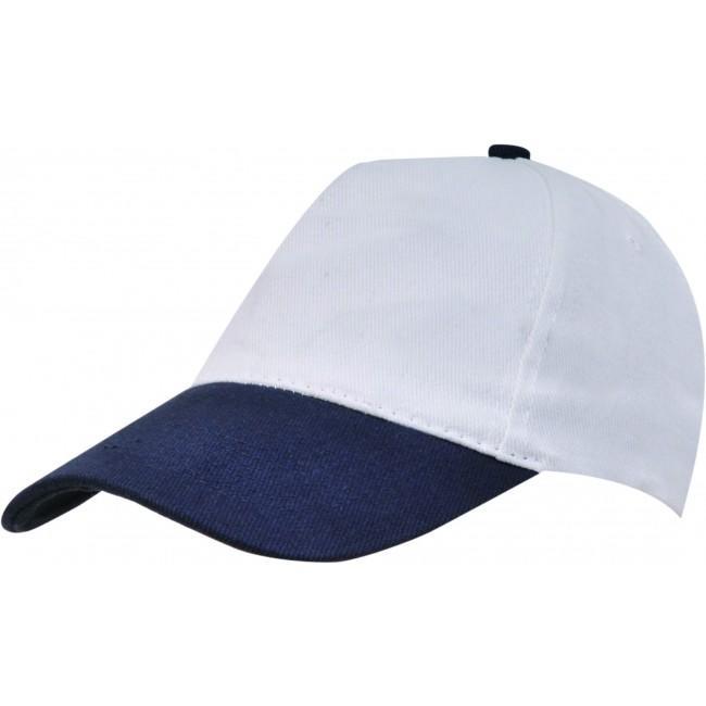 ... White   Navy Blue Peak Baseball Caps 5cd2282c9f9