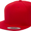 Yupoong Red Classic Snapback