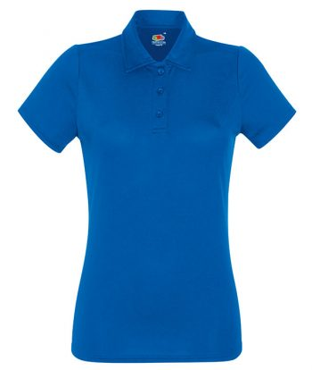 Royal Blue Ladies Polo Shirts