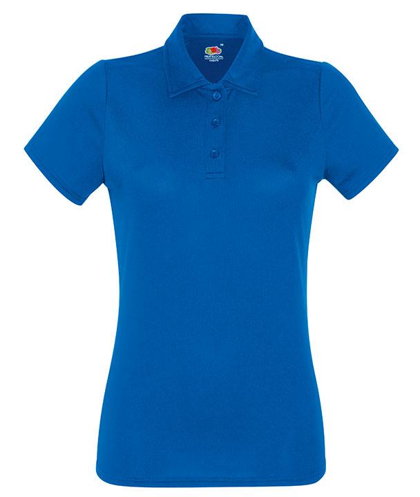 Royal Blue Ladies Polo Shirts