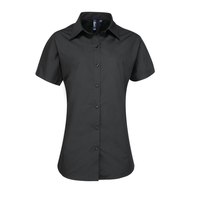 3e6cdbb6d3b Ladies Supreme Poplin short sleeve blouse - Dahan