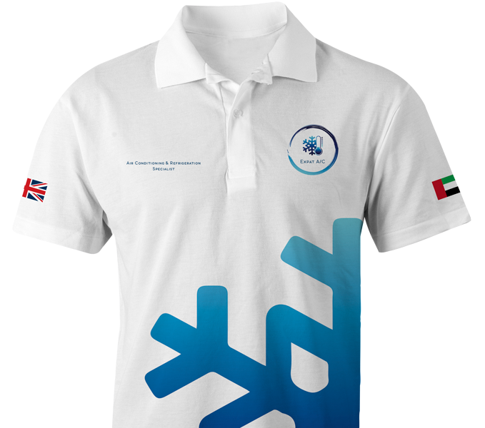Polo Shirt Uniform Design in Dubai (UAE), by Dahan